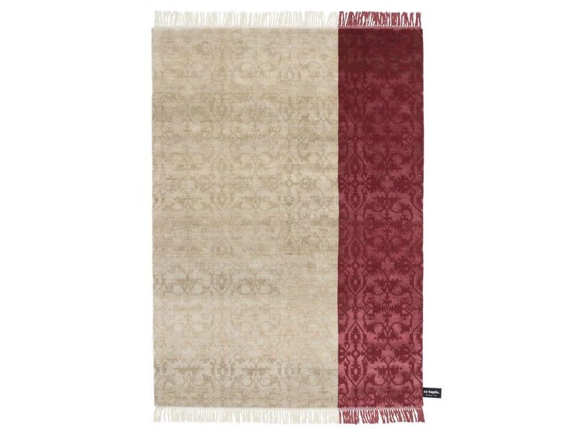 Handmade custom rug DIPPED LOTTO by cc-tapis