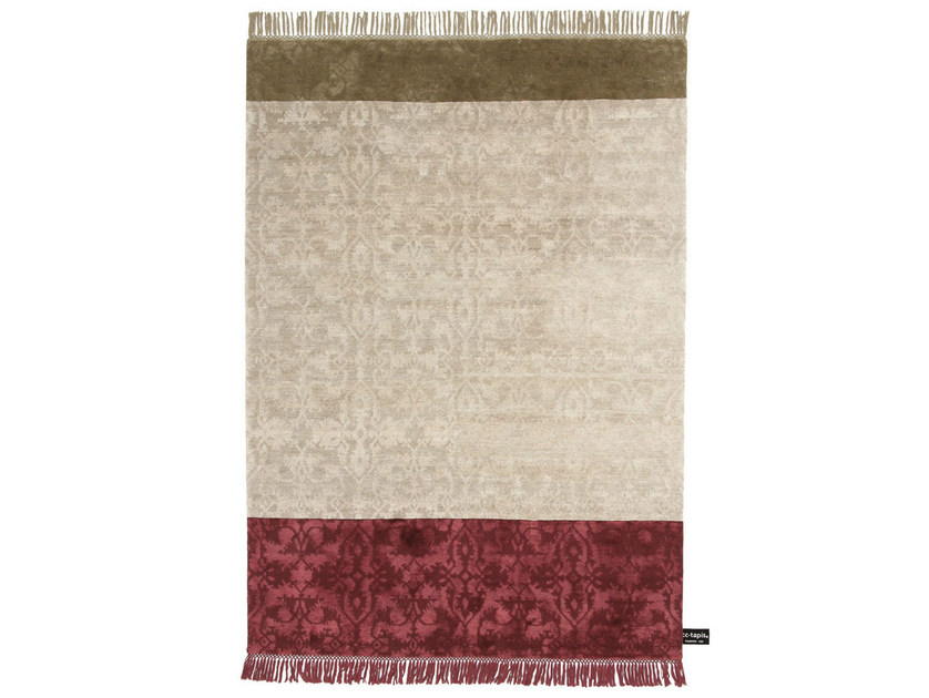 Handmade custom rug DOUBLE DIPPED LOTTO by cc-tapis