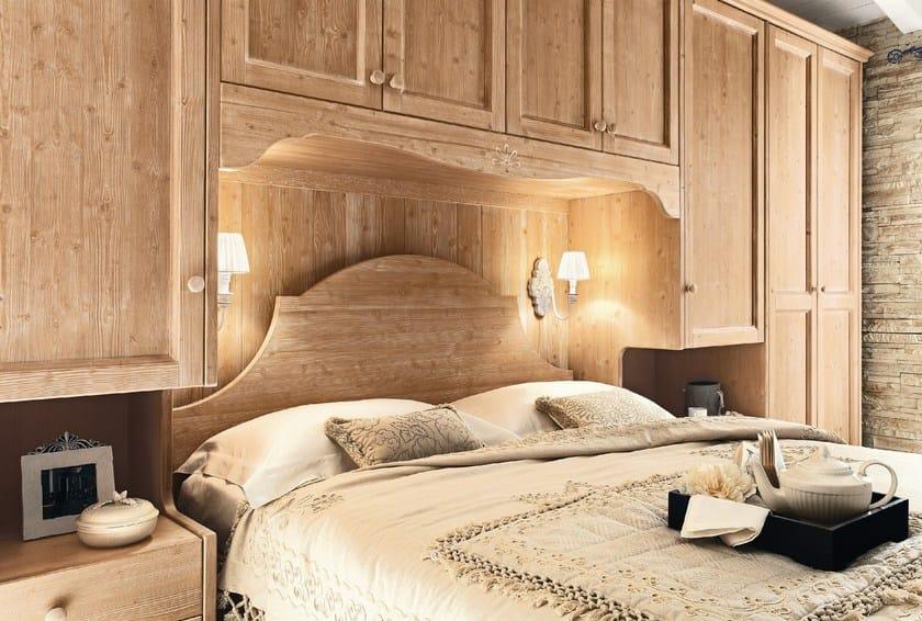 Camera da letto in legno in stile country every day night - Camera matrimoniale country ...