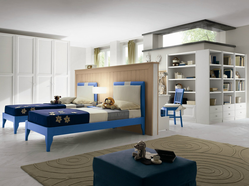 Wooden teenage bedroom EVERY DAY NIGHT | Composition 15 by Callesella Arredamenti
