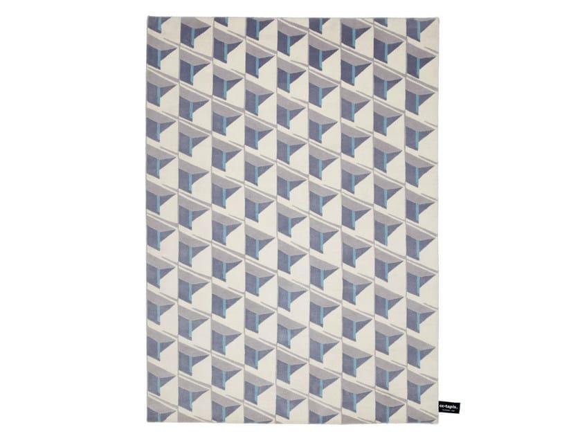 Handmade custom rug CARIBE HILTON by cc-tapis
