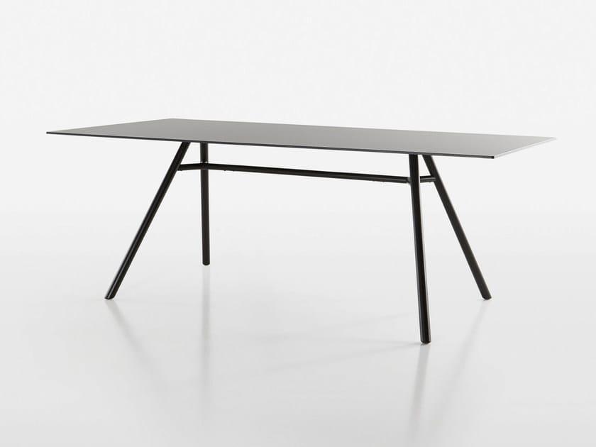 Rectangular table MART | Rectangular table by Plank