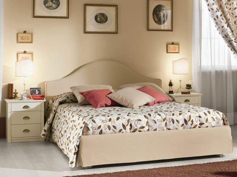 Wooden bedroom set ROMANTIC | Composition 04 by Callesella Arredamenti