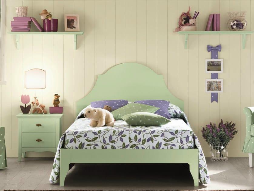 Wooden teenage bedroom ROMANTIC | Composition 10 by Callesella Arredamenti