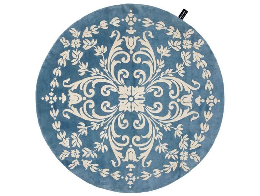 Handmade custom rug WOODWEDGE by cc-tapis