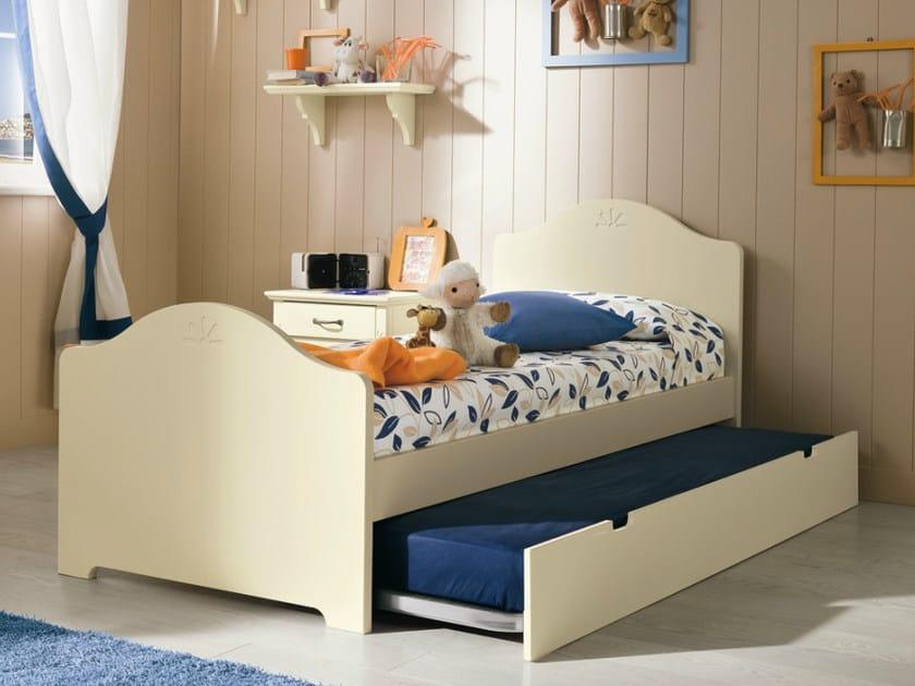 Wooden teenage bedroom ROMANTIC | Composition 15 by Callesella Arredamenti