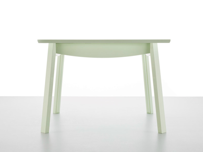 Extending wooden dining table DANDY by Callesella Arredamenti
