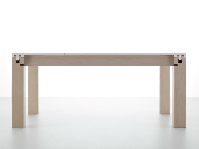 Extending wooden dining table INNESTI by Callesella Arredamenti
