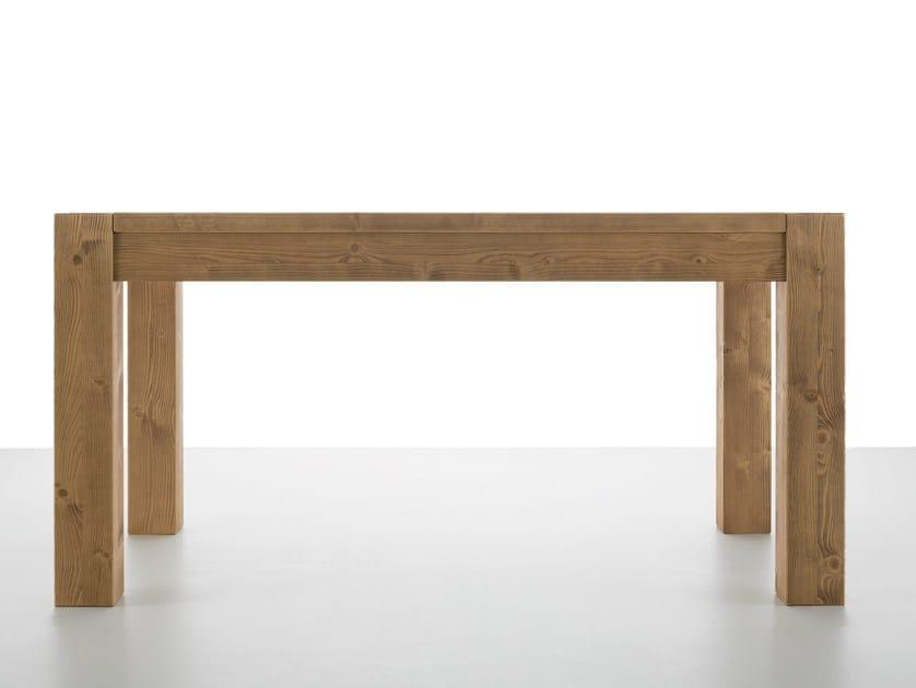 Extending dining table ESENCAJ by Callesella Arredamenti
