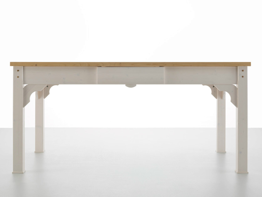 Extending dining table PLINIO by Callesella Arredamenti