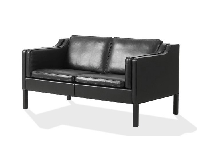 Contemporary style 2 seater leather sofa 2212 | Sofa by FREDERICIA FURNITURE