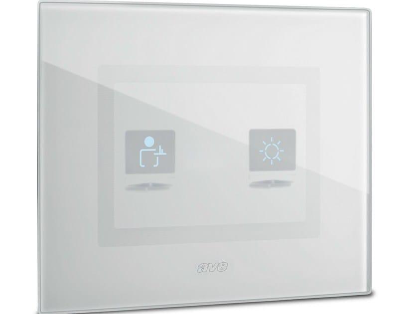 Interruttore per comando luce con simboli DOMUS TOUCH by AVE