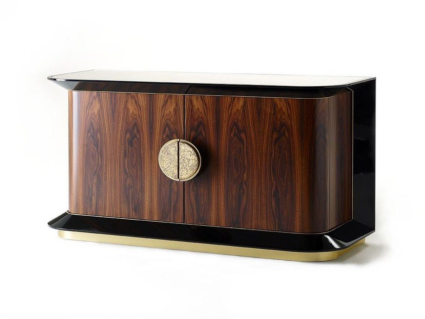 Wooden sideboard with doors ANTHONY | Wooden sideboard by MARIONI