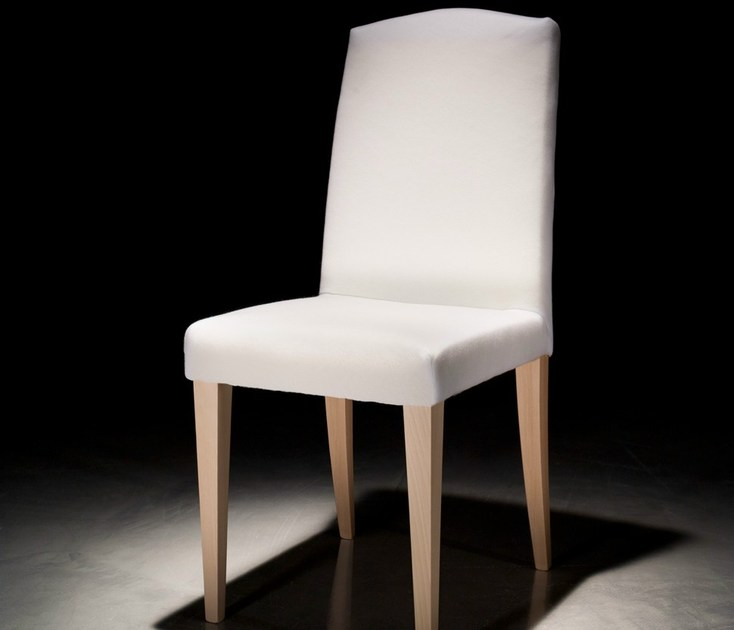 Wooden restaurant chair with removable cover SALLY by Callesella Arredamenti