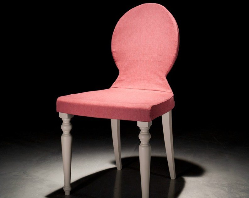 Wooden restaurant chair with removable cover LOUIS XVI by Callesella Arredamenti