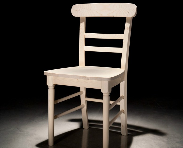 Wooden restaurant chair PROVENZA by Callesella Arredamenti