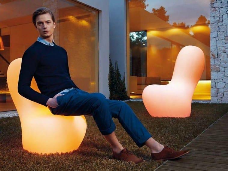 Armchair / Floor lamp SABINAS | Floor lamp by VONDOM