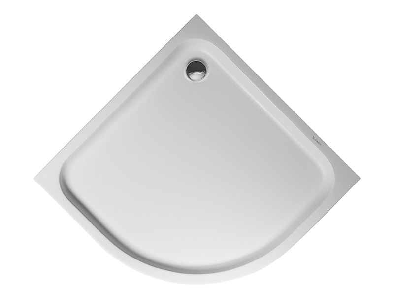 Corner acrylic shower tray D-CODE | 90 x 90 by Duravit