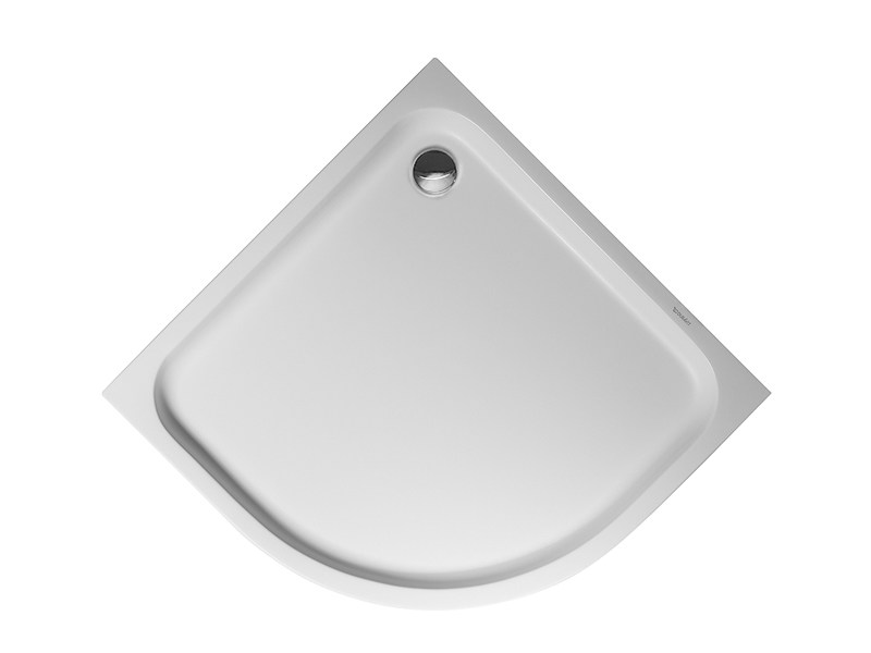 Corner acrylic shower tray D-CODE | 100 x 100 by Duravit