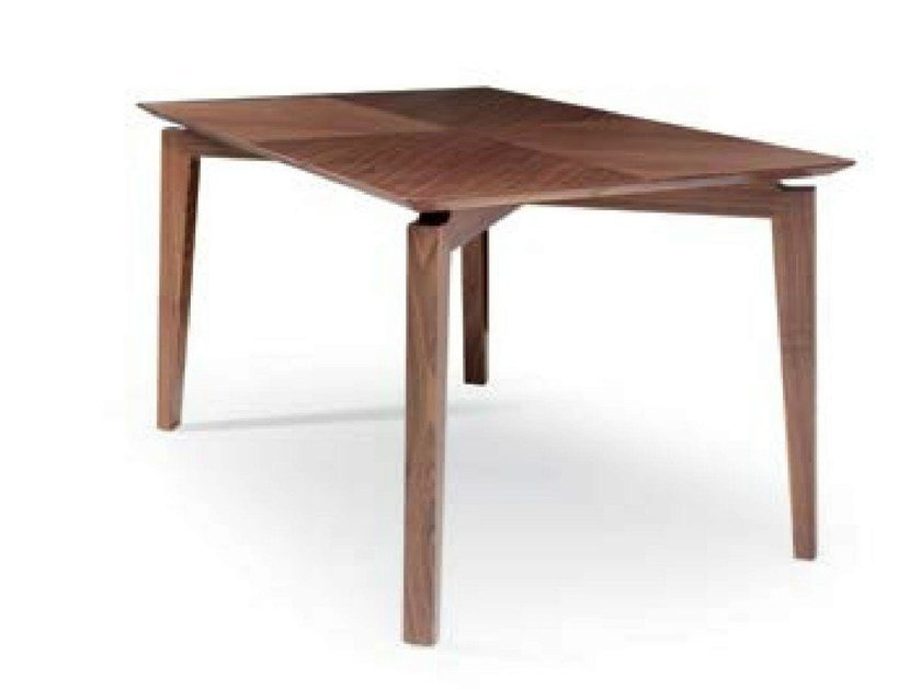 Rectangular wooden table MARLÈNE | Table by Riccardo Rivoli