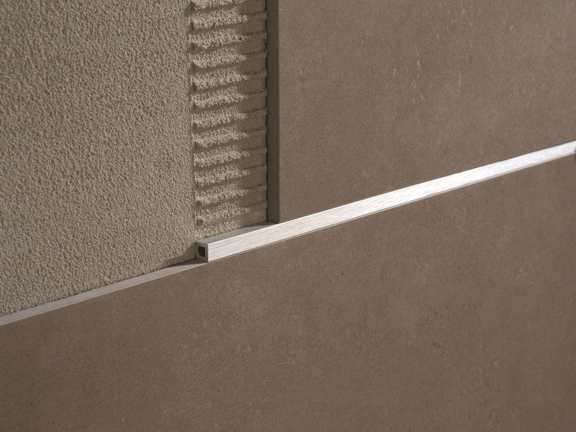 Decorative aluminium edge profile LISTEC LI 10 by PROFILITEC