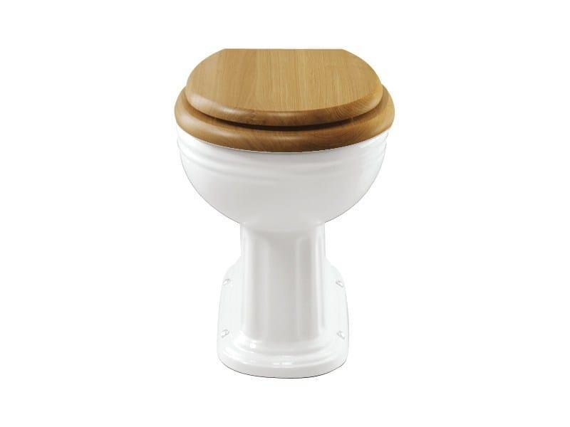 Classic style English oak toilet seat English oak toilet seat by GENTRY HOME
