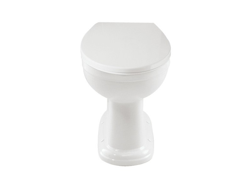 Acrylic toilet seat with soft close Acrylic toilet seat by GENTRY HOME