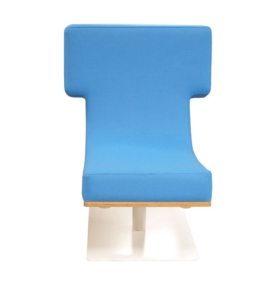 Upholstered easy chair TYPOGRAPHIA T by TABISSO