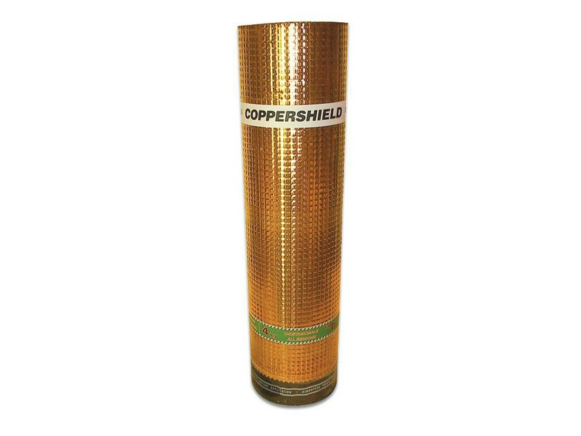 Prefabricated bituminous membrane COPPERSHIELD by POLYGLASS
