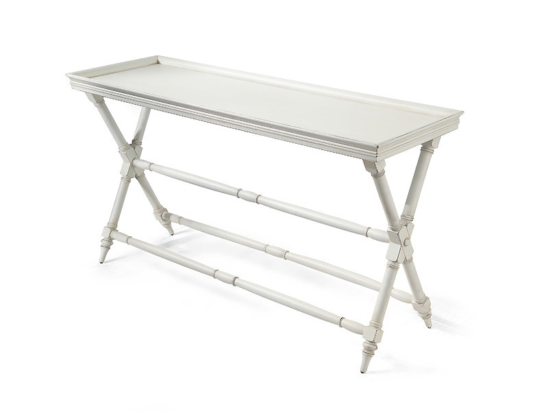 Rectangular wooden console table HABANA | Console table by MARIONI
