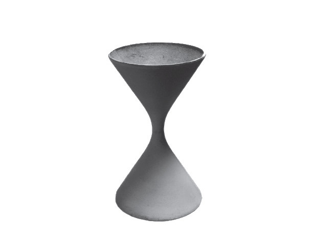 High cement garden vase SPINDEL by SWISSPEARL Italia