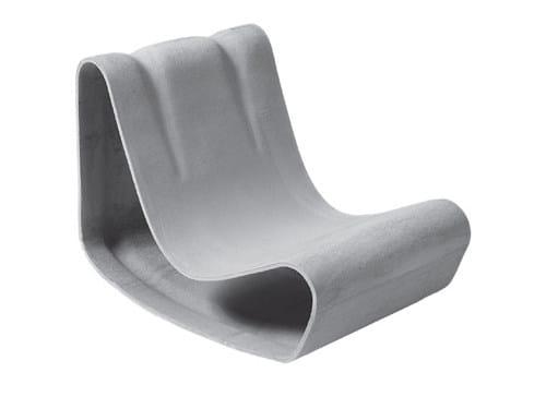 Cement garden armchair GUHL | Garden armchair by SWISSPEARL Italia