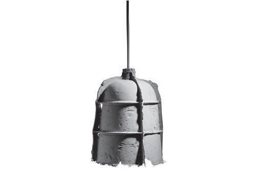 Cement pendant lamp MOLD by SWISSPEARL Italia