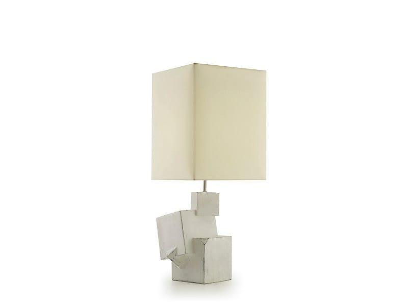 Ceramic table lamp PYRITE | Ceramic table lamp by MARIONI
