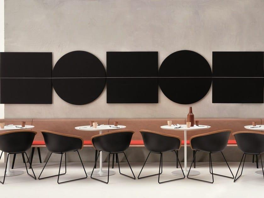 Decorative acoustical panel PARENTESIT by arper