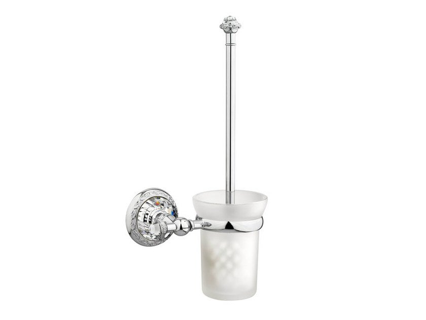 Wall-mounted toilet brush 262084.0000.50 | Toilet brush by Bronces Mestre