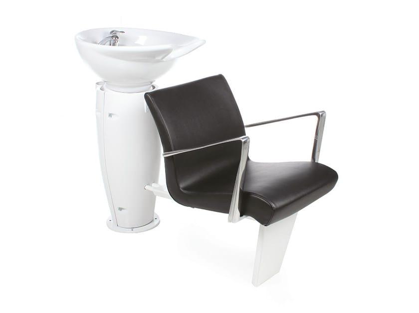 Shampoo basin GRALUOTIS ECOBLACK by Gamma & Bross