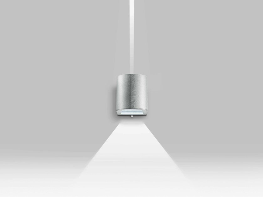 Direct-indirect light Outdoor wall Lamp KRISS by iGuzzini