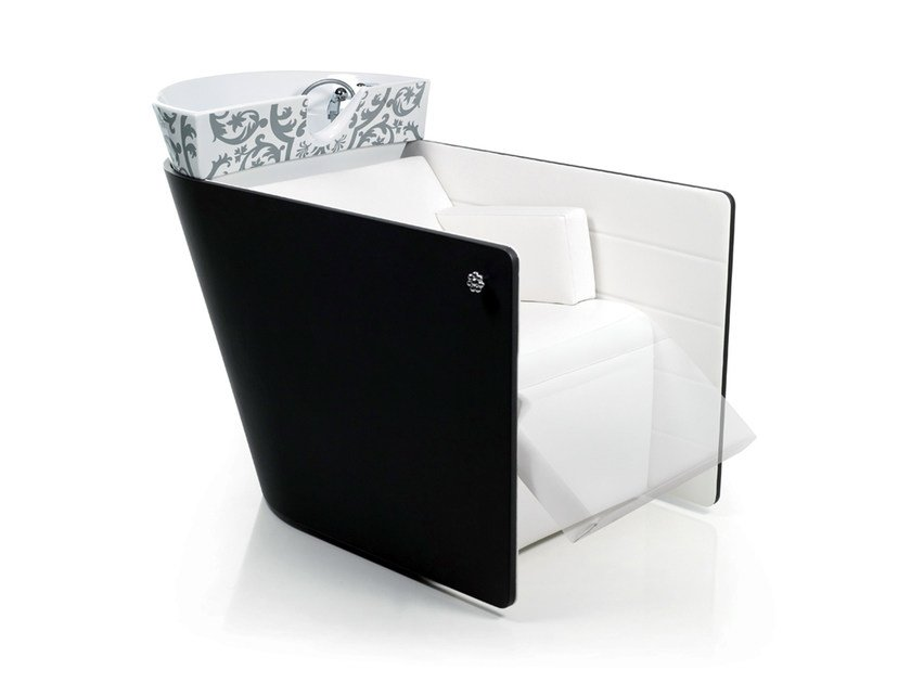 Shampoo basin VA PENSIERO SHIATSU BLACK by Gamma & Bross
