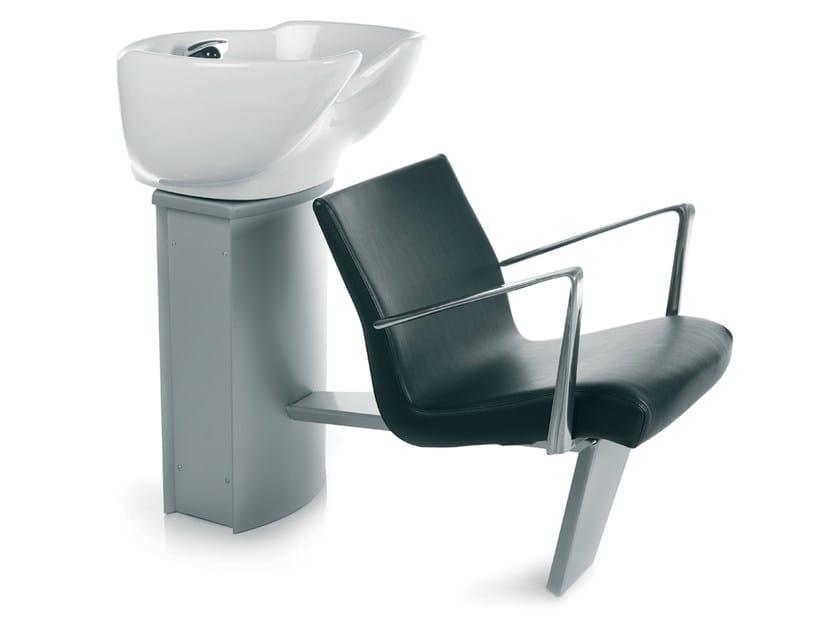 Shampoo basin WASH INN ECOBLACK by Gamma & Bross