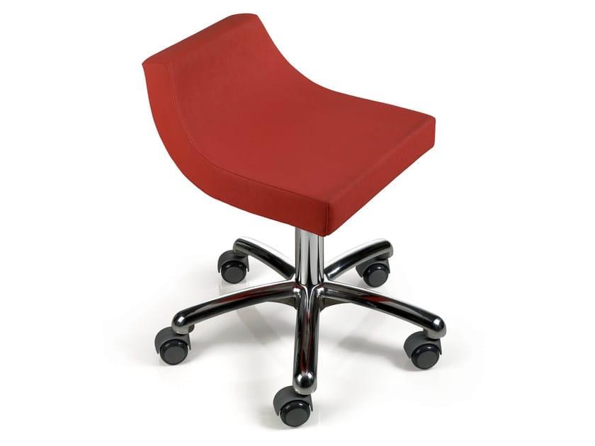 Salon stool OKUMI STREAM by Gamma & Bross