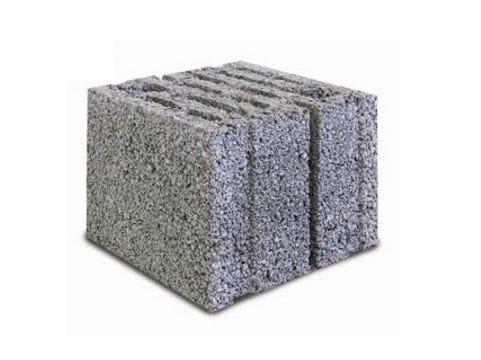 Concrete building block LECABLOCCO FONOISOLANTE by Anpel