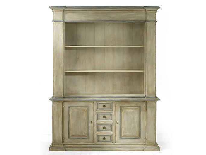 Wooden highboard with doors SIENA | Highboard by MARIONI