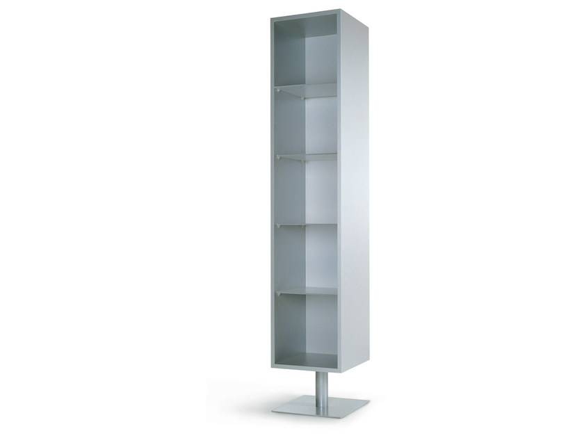 Floor-standing one-sided salon display unit FURA GIORNO P by Gamma & Bross
