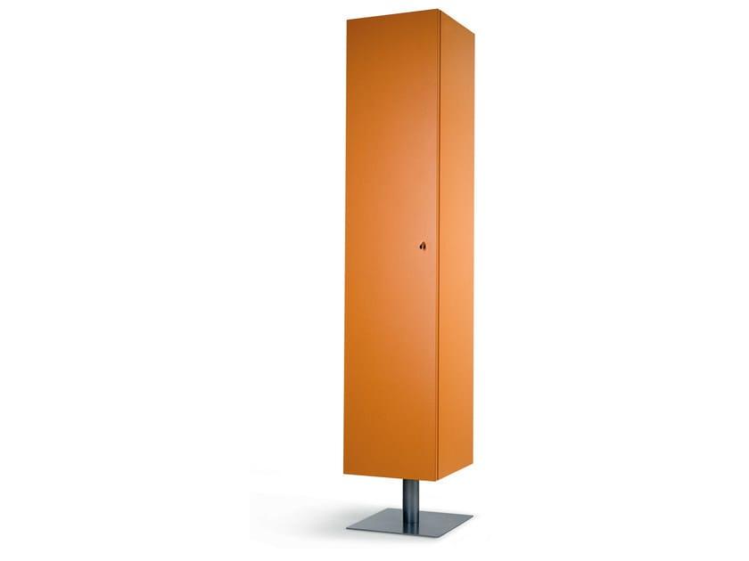 Floor-standing one-sided salon display unit FURA ANTA N by Gamma & Bross