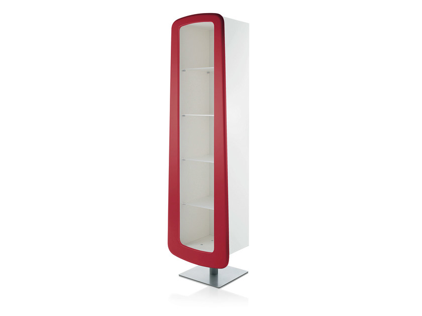 Floor-standing one-sided salon display unit JELLY by Gamma & Bross