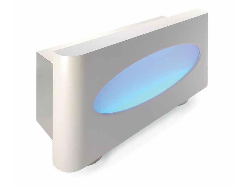 Reception desk with Built-In Lights AMT-1 by Gamma & Bross