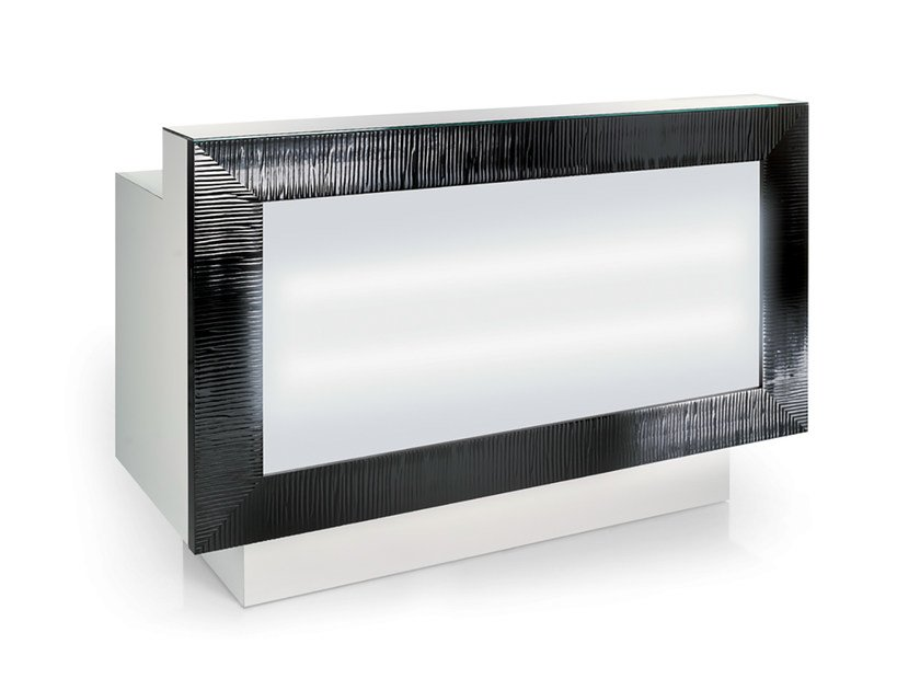 Reception desk with Built-In Lights XP DESK by Gamma & Bross
