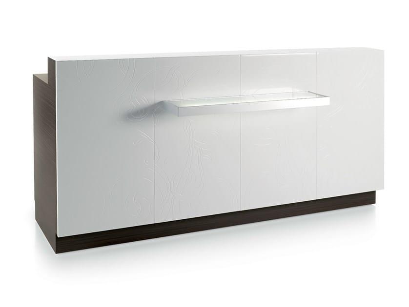 Reception desk SUNRISE DESK by Gamma & Bross