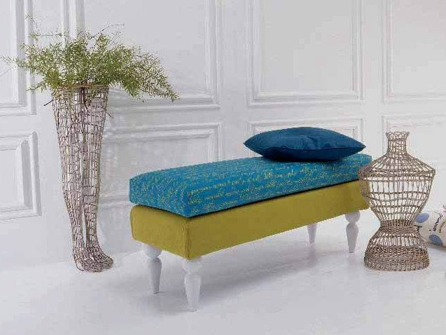 Fabric bench LOULOU by Twils